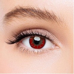 KateEye® Akashi Seijuro Red Hazel Colored Contact Lenses