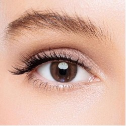 KateEye® Amber Brown Colored Contact Lenses