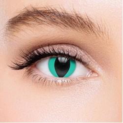 KateEye® Aqua Blue Cat'S Eye Colored Contact Lenses