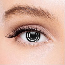 KateEye® Black Spiral Colored Contact Lenses