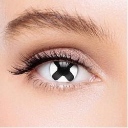KateEye® Black Cross Colored Contact Lenses