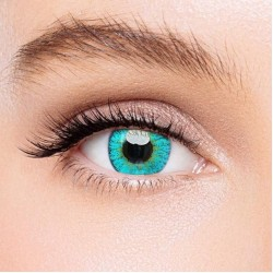 KateEye® Elf Green Naruto Colored Contact Lenses