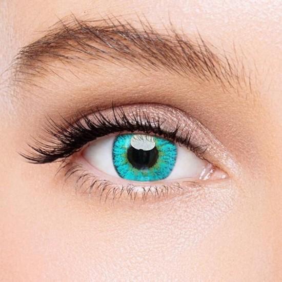 KateEye® Elf Green Naruto Colored Contact Lenses