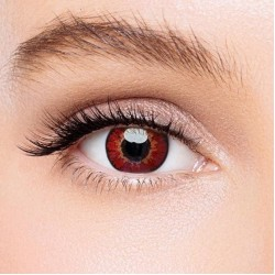 KateEye® Elf Red Naruto Sharingan Colored Contact Lenses