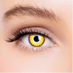 KateEye® Gold Vampire Special Effect Colored Contact Lenses