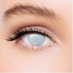 KateEye® Gridding White Colored Contact Lenses