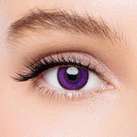 KateEye® Macaron Purple Colored Contact Lenses