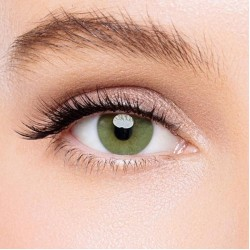 KateEye® Polar Lights Yellow-Green Colored Contact Lenses