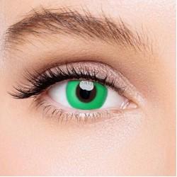 KateEye® Pure Green Naruto Colored Contact Lenses