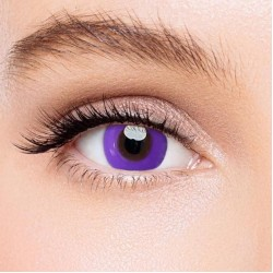 KateEye® Pure Purple Colored Contact Lenses