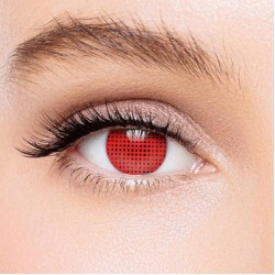 KateEye® Red Mesh Colored Contact Lenses