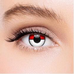 KateEye® Red White Pokemon Colored Contact Lenses