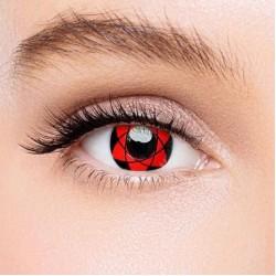 KateEye® Sharingan Sasuke Naruto Colored Contact Lenses
