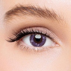 KateEye® Minnion Purple Colored Contact Lenses