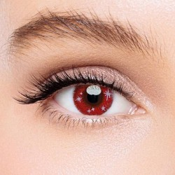 KateEye® Minnion Red Colored Contact Lenses