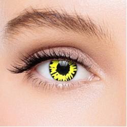 KateEye® Yellow Twilight Werewolf Colored Contact Lenses
